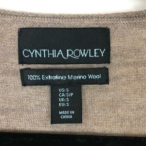 Cynthia Rowley Sweaters - Cynthia rowley 100% merino wool small thin sweater